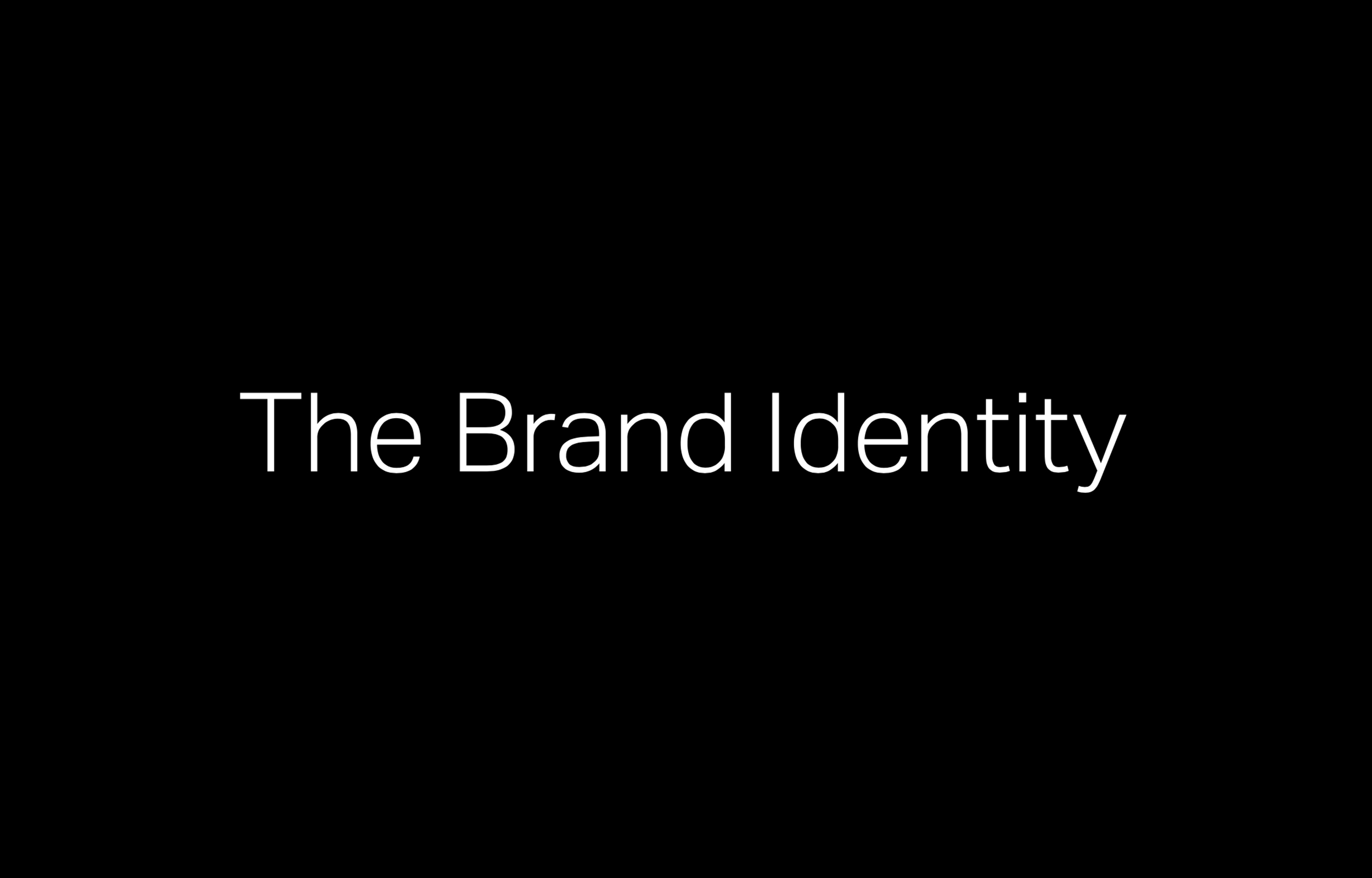 Tio Joe on The Brand Identity