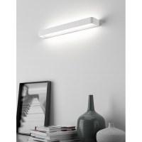 Rotaliana Frame W3 LED Linear Wall Lamp White - Diffusione ...