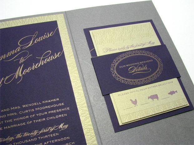 Spark Impress Luxury Wedding Invitations Digby Rose