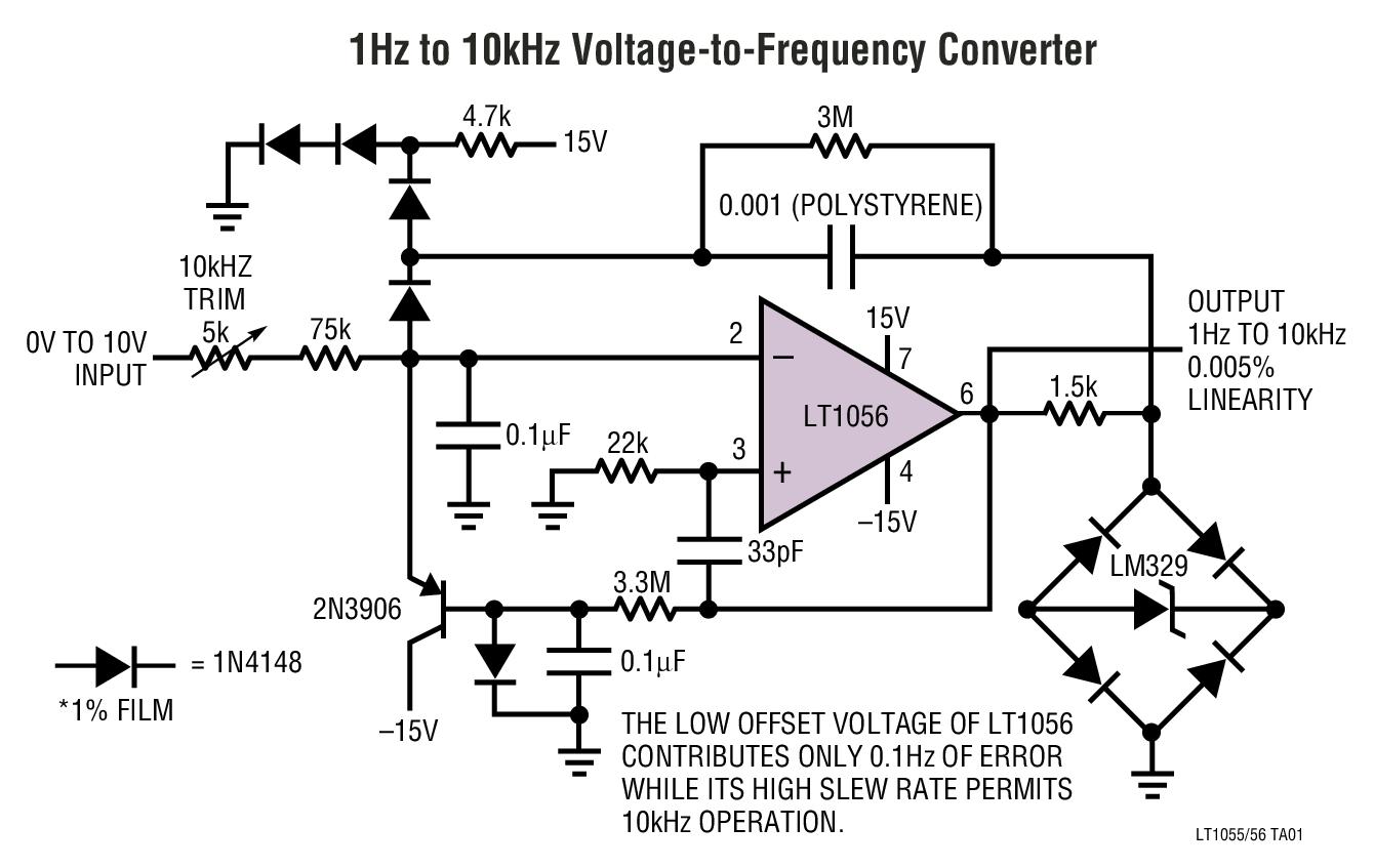 high speed jfet input operational amplifier linear technology