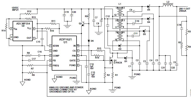 step up input voltage dcdc converter circuit