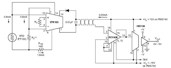 industrial thermocouple standard wiring diagram
