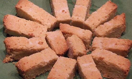 Schottisches Shortbread mit Orange und Vanille
