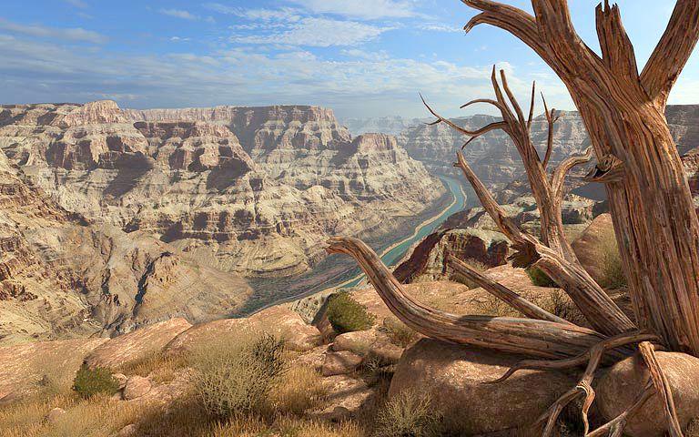 3d Halloween Live Wallpaper Grand Canyon 3d Screensaver Download Animated 3d Screensaver