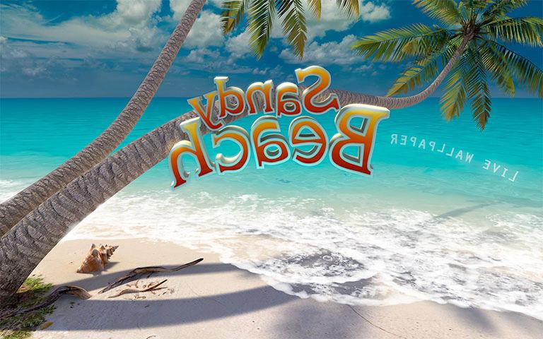 Live Fall Wallpaper For Pc Sandy Beach 3d Screensaver Download Animated 3d Screensaver