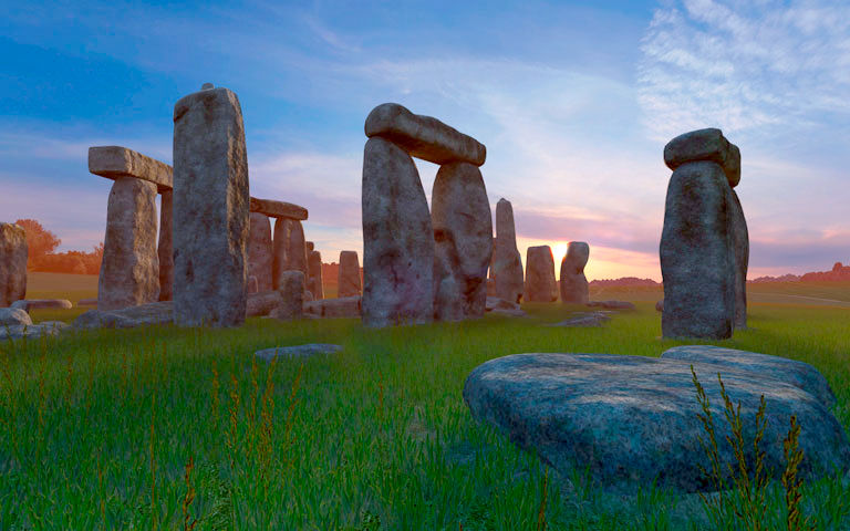 Animated Fish Wallpaper Hd Stonehenge 3d Screensaver Download Animated 3d Screensaver