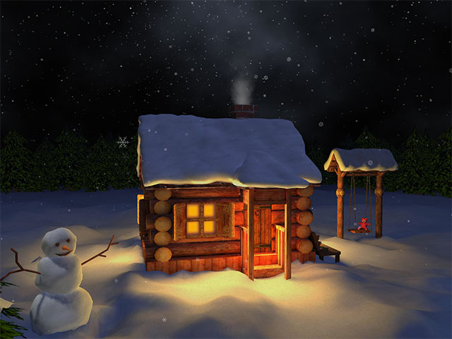 Snow Village 3d Live Wallpaper And Screensaver Mild Winter 3d Gallery Image 3 Of 3