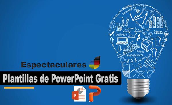 Plantillas de PowerPoint Gratis  Espetaculares