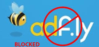 access blocked adfly url