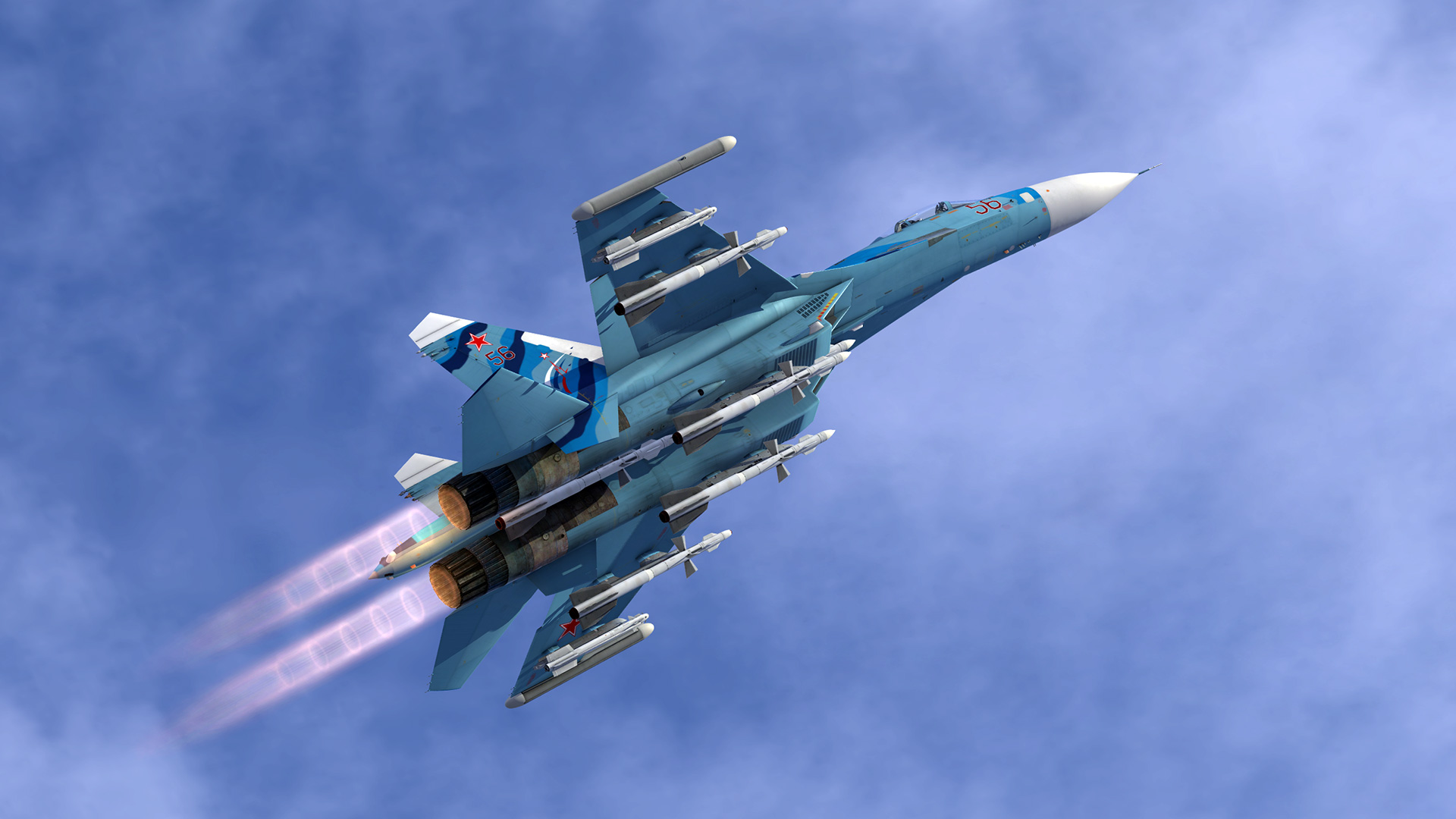 Cockpit Hd Wallpaper Su 27 New Afterburner Gfx Ed Forums