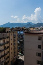 Rooftop view of Salerno, Italy