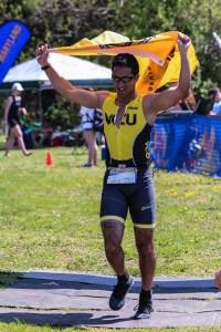 Finisher at the 2015 Smithfield Sprint Triathlon
