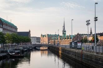 Copenhagen Stock Exchange and Waterway