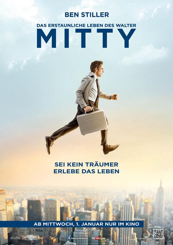 Das erstaunliche Leben des Walter Mitty- Plakat
