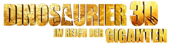 Dinosaurier 3D- Im Reich der Giganten - Logo