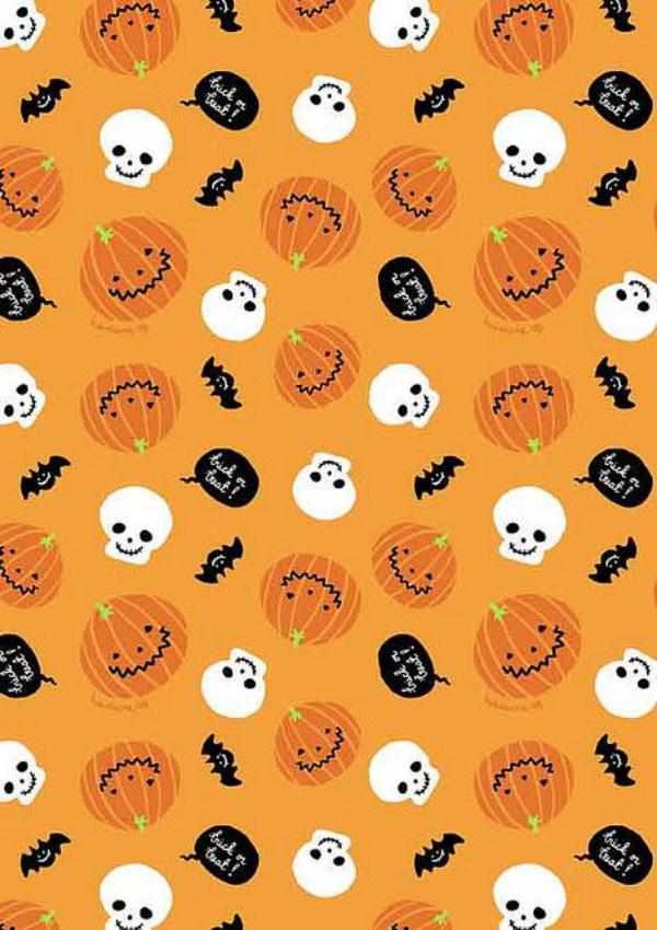 Fall Pumpkin Iphone Wallpaper 13 Halloween Prints Ideas For Fabric Digital Fabric