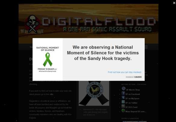 digitalflood.com - A Moment of Silence for Sandy Hook