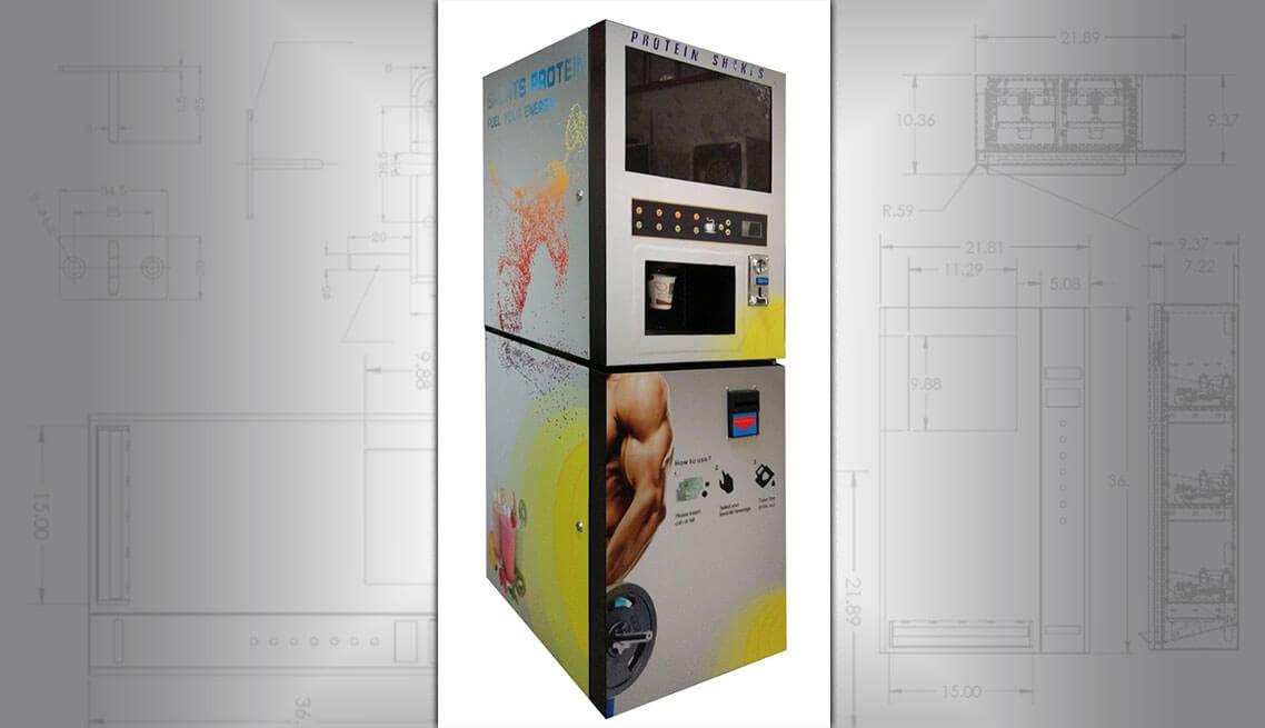 Protein Powder Vending Machine Protein Shake Vending