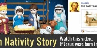 modern nativity story