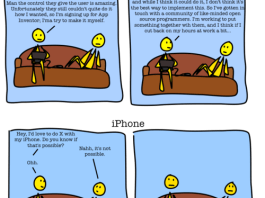 The difference between the Android User and the iPhone User