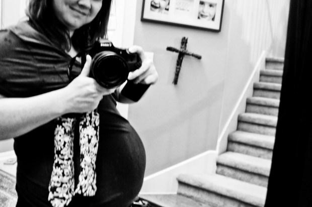31 Weeks Pregnant Baby Bump