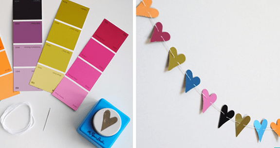 paint chips projects