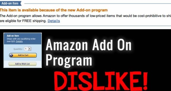 amazon add on program