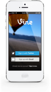 twitter launches vine app