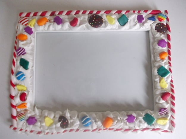 Candy Crush Photo Frame