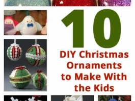 DIY christmas ornaments to make with kids