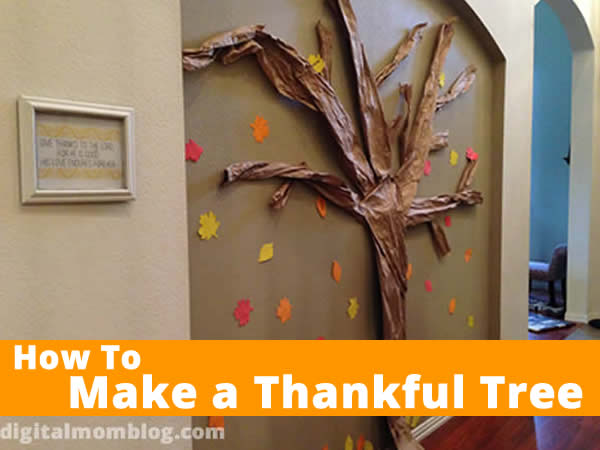 thankful tree for your wall