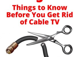5 Things to Know Before You Get Rid of Cable TV!