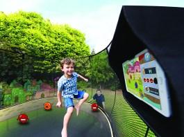 interactive trampoline springfree tgoma