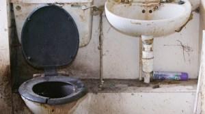 Bad restroom