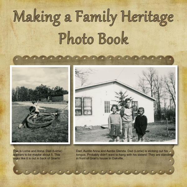 Step-By-Step Tips for Creating a Family History Genealogy Photo Book