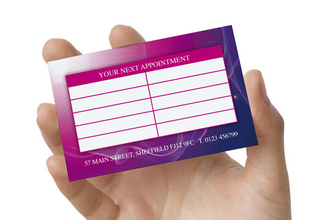Appointment Card Appointment Cards Meeting Reminder