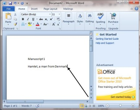 How To Move Around A Document Step-By-Step Guide - microsoft word
