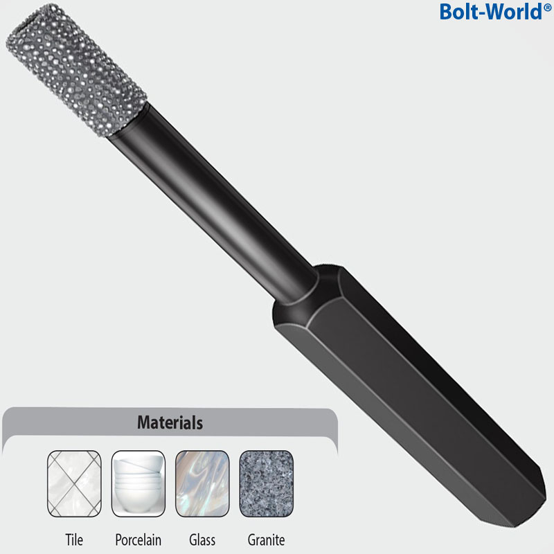 Addax Dry Diamond Drill Bits For Porcelain Tile Glass