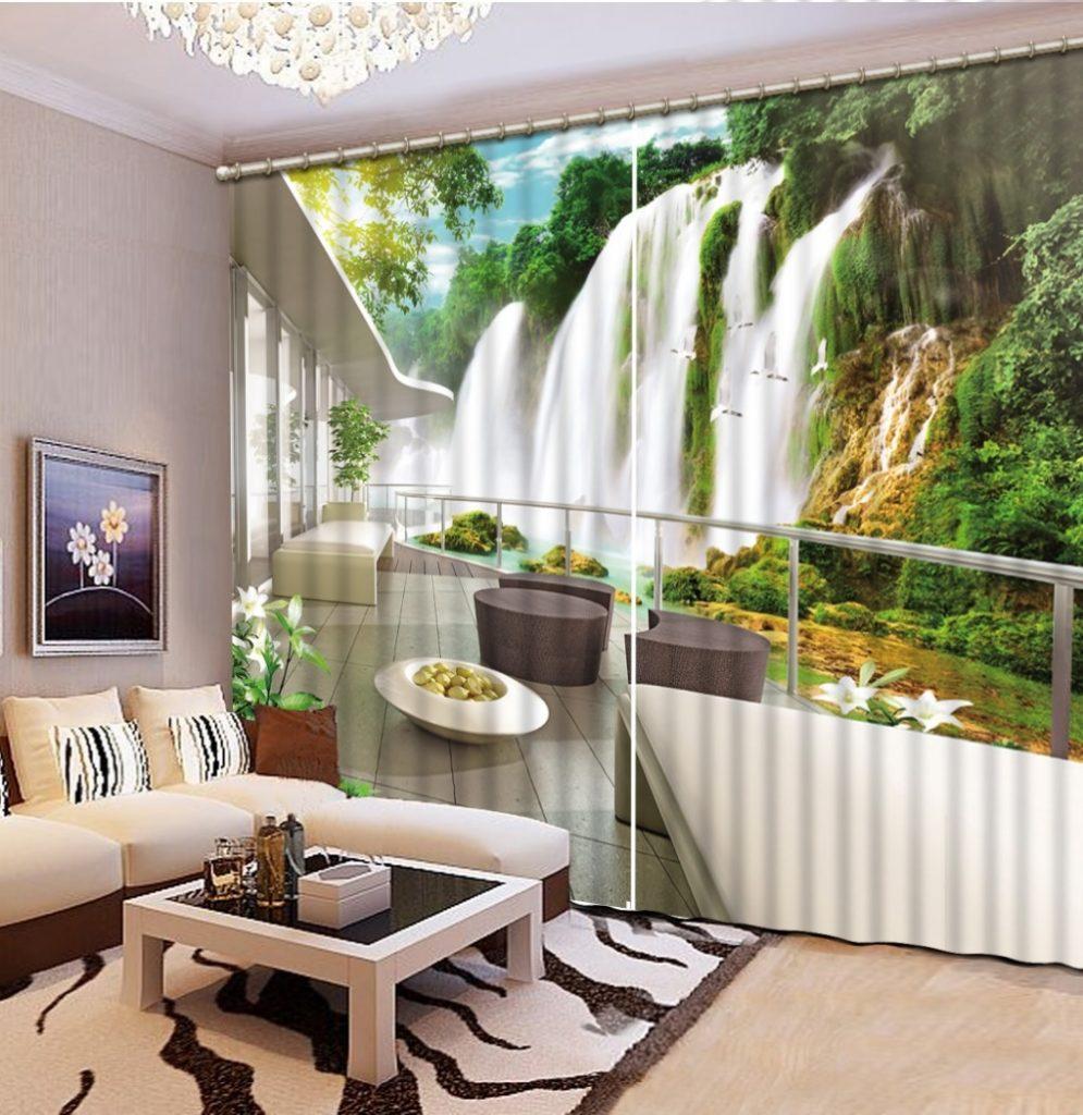 3d Wallpaper For Master Bedroom 42 Ideias De Cortinas Para Sala De Estar E Jantar 2018
