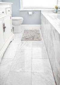 41 Cool Bathroom Floor Tiles Ideas You Should Try - DigsDigs