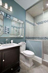 29 Ideas To Use All 4 Bahtroom Border Tile Types - DigsDigs