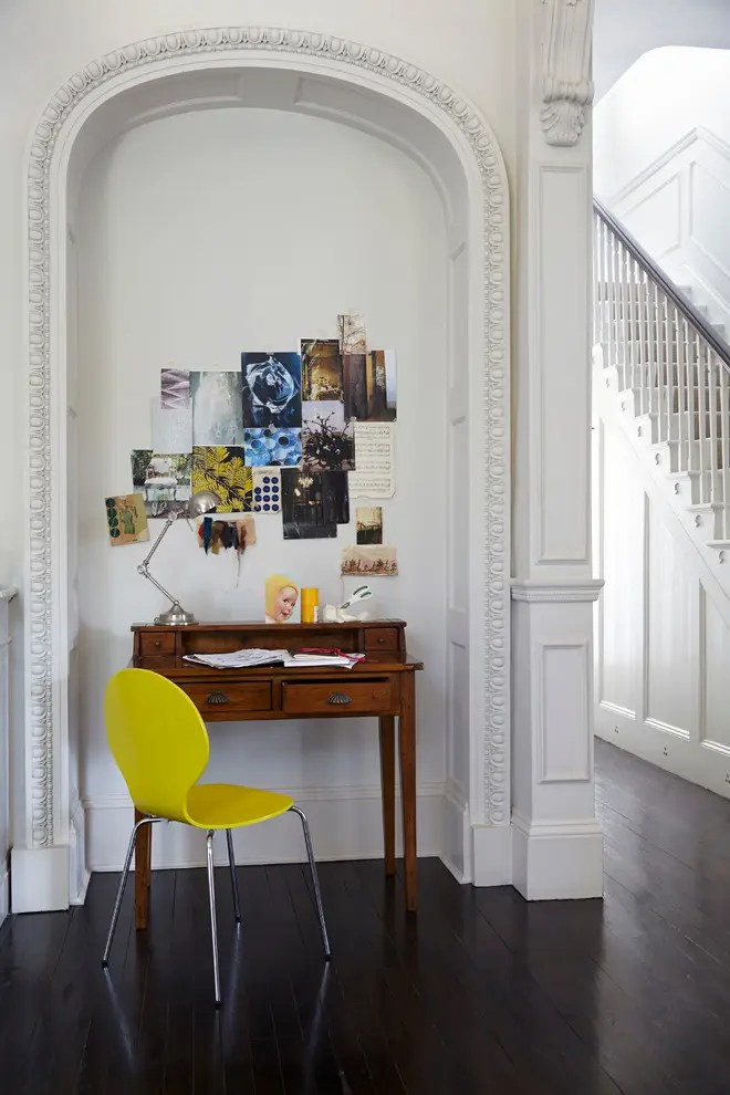 57 Cool Small Home Office Ideas - DigsDigs - living room office ideas