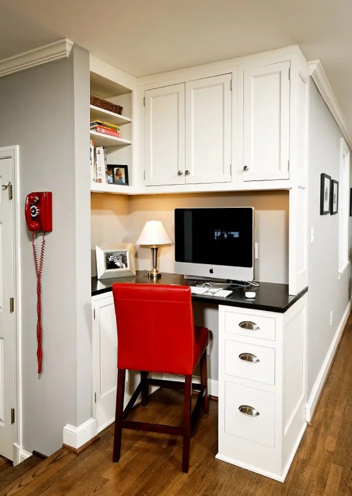 57 Cool Small Home Office Ideas - DigsDigs - home office design ideas