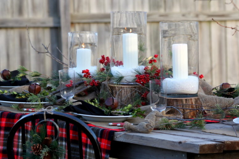95 Amazing Outdoor Christmas Decorations - DigsDigs - christmas floral decorationswhere to buy christmas decorations