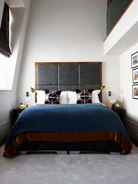 70 Stylish and Sexy Masculine Bedroom Design Ideas - DigsDigs - mens bedroom ideas