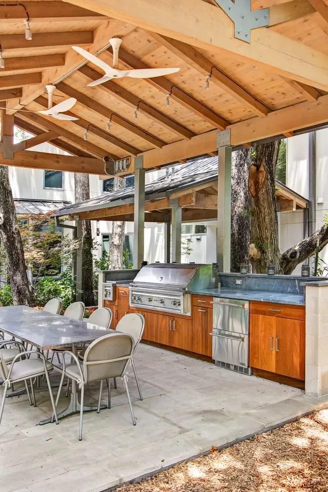 95 Cool Outdoor Kitchen Designs - DigsDigs - summer kitchen design