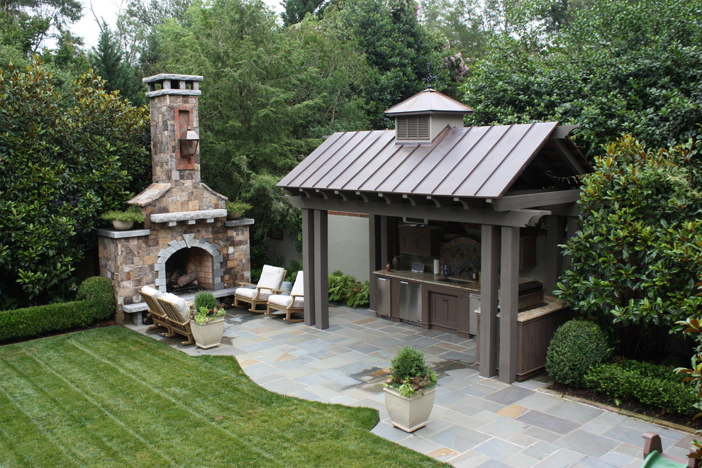 95 Cool Outdoor Kitchen Designs - DigsDigs - outside kitchen ideas