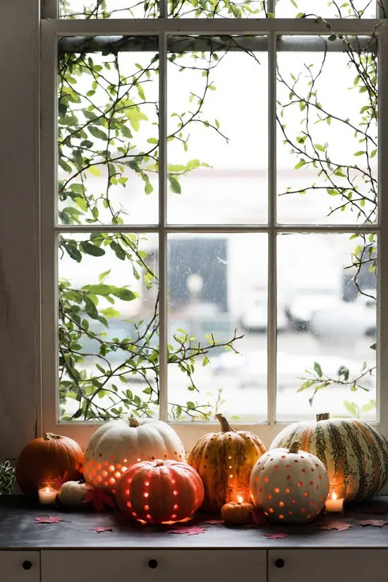 Really Cute Thanksgiving Wallpaper 59 Fall Lanterns For Outdoor And Indoor D 233 Cor Digsdigs