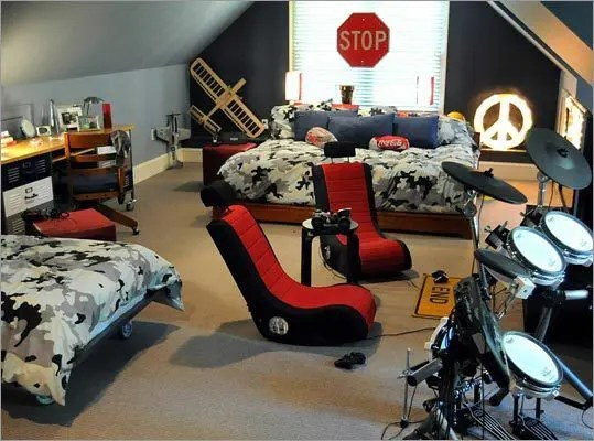 55 Modern And Stylish Teen Boys39 Room Designs Digsdigs