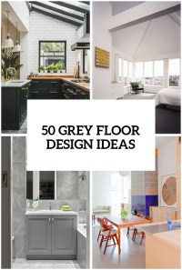 32 Grey Floor Design Ideas That Fit Any Room - DigsDigs